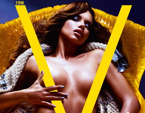 Adriana Lima topless #Bulvár
