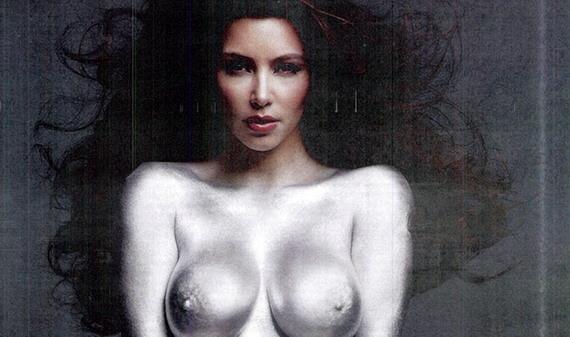Kim Kardashian - new nude photos: The Art of Reality - W Magazine (November ...