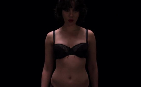 Scarlett Johansson nude - Under The Skin