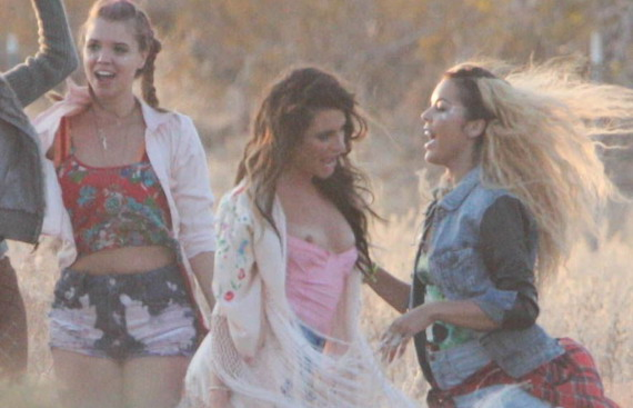 Lea Michelle Slips a Nip on her New Music Video Set and other Daily Links