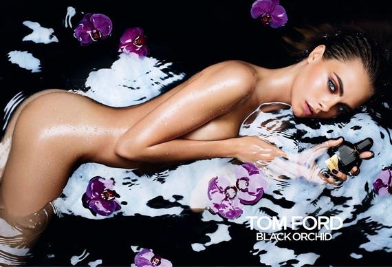 Cara Delevingne - Tom Ford Black Orchid Ad