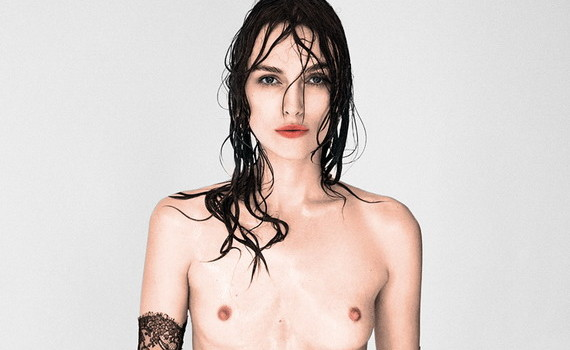 Keira Knightley topless - Interview Magazine