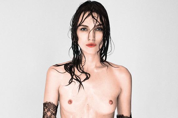 Keira Knightley topless - Interview Magazine