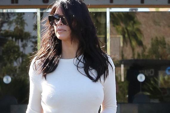 Kim Kardashian booty candids in Calabasas