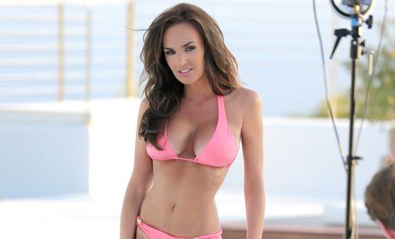 Tamara Ecclestone - bikini photoshoot in Ibiza
