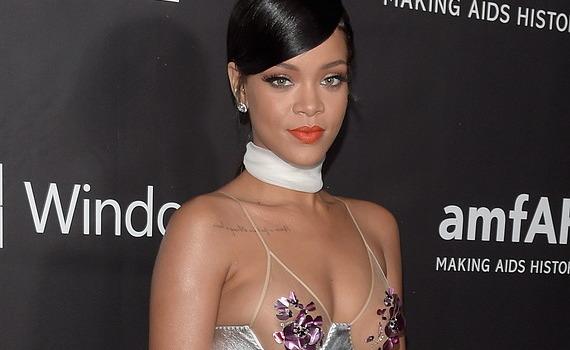 Rihanna - amfAR LA Inspiration Gala in Hollywood