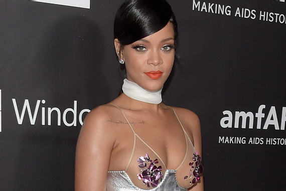 Rihanna - amfAR LA Inspiration Gala in Hollywood