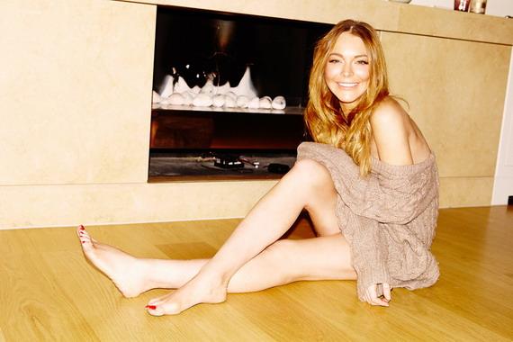 Lindsay Lohan - Olivia Richardson Photoshoot