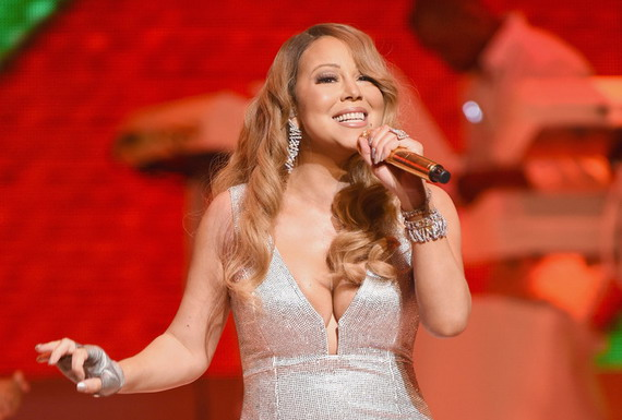Mariah Carey - Christmas Concert at the Beacon Theatre in NYC