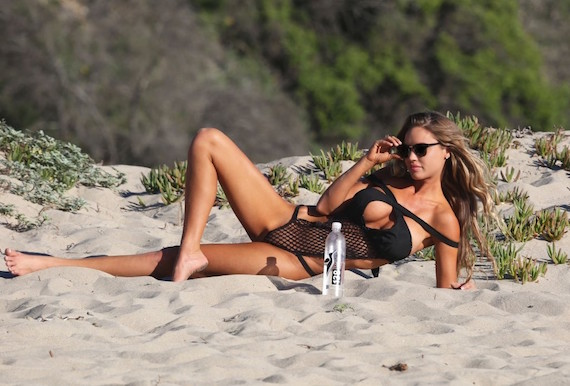 Charlie Riina - 138 Water photoshoot in Malibu