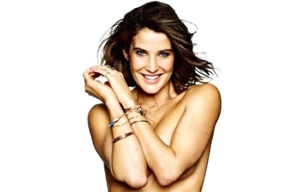 There Is No Argument, Cobie Smulders' Side Boob Is Awesome