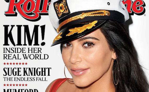 Kim Kardashian covers Rolling Stone Magazine