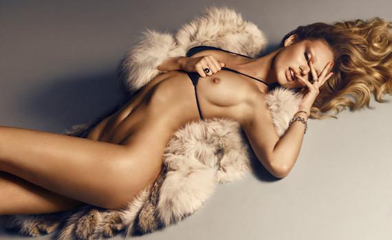 Candice Swanepoel - Lui Magazine