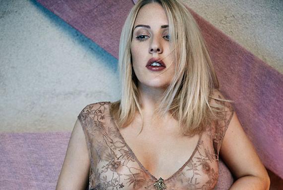 Ellie Goulding see-thru - Rollacoaster Magazine Photoshoot