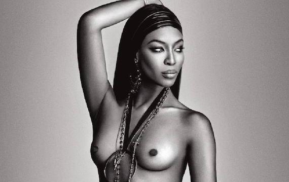 Naomi Campbell naked - Lui Magazine