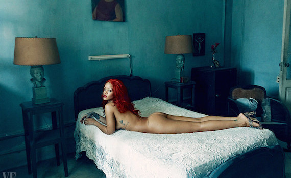 Rihanna naked - Vanity Fair