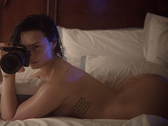 Demi Lovato Poses Completely Nude In Vanity Fair and other Daily Links