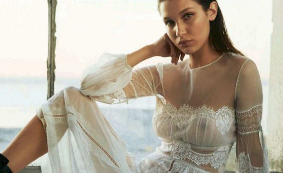 Bella Hadid See Through in S Moda Magazine and other Daily Links