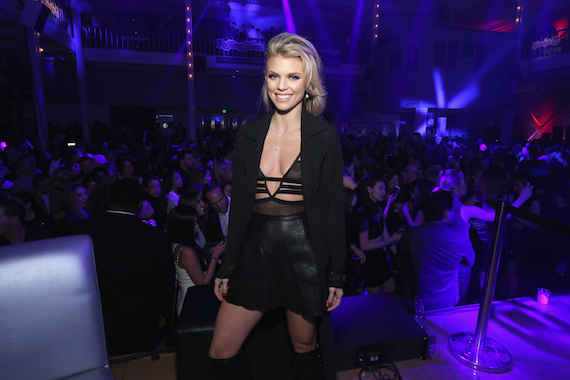 AnnaLynne McCord - See-thru at Rolling Stone Live SF in San Francisco