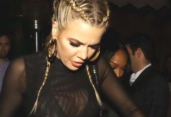 Khloe Kardashian - Nice Guy Club, West Hollywood
