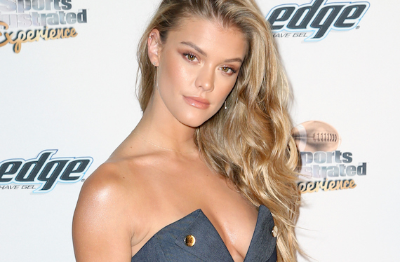 Nina Agdal - Sports Illustrated Experience Friday Night Party in SF