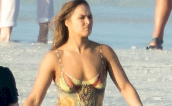 Ronda Rousey in a Body Paint Swimsuit and other Daily Links