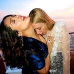 Salma Hayek Nipple Slip in Cannes