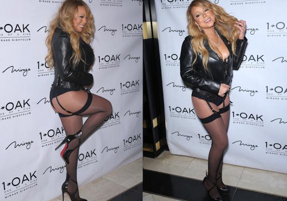 Mariah Carey - 1 OAK Nightclub in Las Vegas