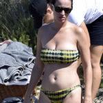 Katy Perry – bikini candids in Italy