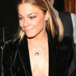 LeAnn Rimes – braless at The Nice Guy in West Hollywood