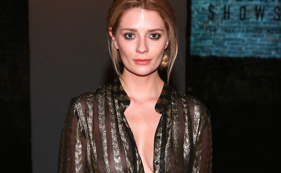 Mischa Barton - See-thru at Globe Fashion Week X China Moment Fashion Show in NYC