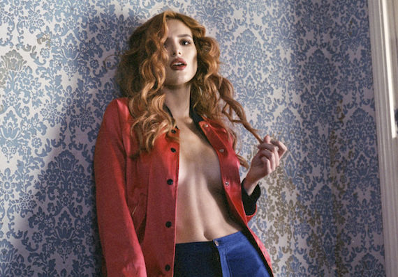 Bella Thorne - Chloe Aftel photoshoot for Playboy