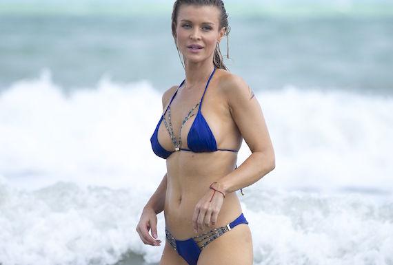 Joanna Krupa - bikini candids in Miami
