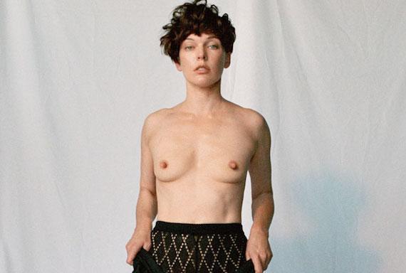 Milla Jovovich topless - POP Magazine