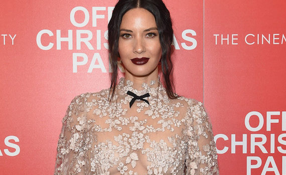 Olivia Munn - screening of Office Christmas Party in NYC