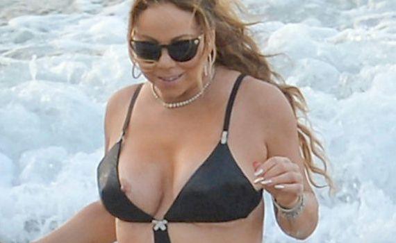 Mariah Carey Bikini Nip Slip and other Daily Links