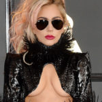 Lady Gaga Underboob at the 59th Annual Grammy Awards and other Daily Links