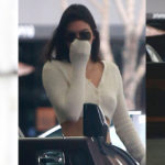 Kendall Jenner braless – leaving a dermatologist in Beverly Hills