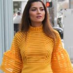 Blanca Blanco in a Semi-Sheer Yellow Dress and other Daily Links