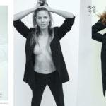 Heidi Klum topless - Harper's Bazaar