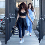 Sarah Hyland - leaving the gym in L.A.