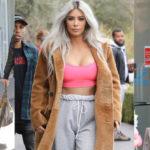 Kim Kardashian – candids in Calabasas