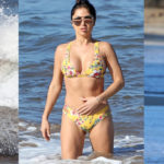 Arianny Celeste – bikini candids on the beach in Hawaii