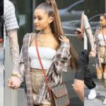 Ariana Grande - pokies in N.Y.