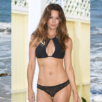 Brooke Burke – bikini candids on the beach in Malibu
