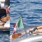 Kourtney Kardashian – bikini candids in Portofino