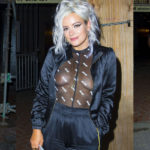 Lily Allen see-thru – outside the House Of Blues in New Orleans