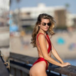 Rachel McCord – on the set of a photoshoot in Santa Monica