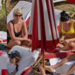Dua Lipa - bikini candids by a pool in Miami