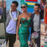 Katy Perry – on the set of American Idol in Honolulu